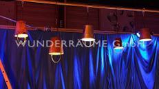 """Industriallampe """"Eimer"""" - WUNDERRÄUME GmbH vermietet: Dekoration/Kulisse für Event, Messe, Veranstaltung, Incentive, Mitarbeiterfest, Firmenjubiläum"""