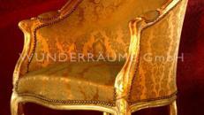 Elegante Barockstühle - WUNDERRÄUME GmbH vermietet: Dekoration / Kulisse für Event, Messe, Veranstaltung, Incentive, Mitarbeiterfest, Firmenjubiläum