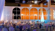 Ballsaalfenster weiß - WUNDERRÄUME GmbH vermietet: Dekoration/Kulisse für Event, Messe, Veranstaltung, Incentive, Mitarbeiterfest, Firmenjubiläum