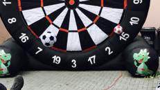 XXL Fussball-Dart mieten deutschlandweiter Versand möglich