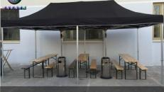 Partyzelt 3x6 Meter Pro PVC Feuerfest