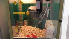 Popcornmaschine, Popcorn, Nostalgie 50 Jahre Style, Kino,