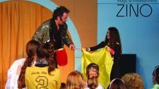 Hier zaubert ZINO für Kinder!