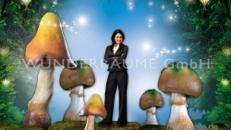 Pilze groß, Pilzset Champignon/Pfifferlinge (9 Pilze) - WUNDERRÄUME GmbH vermietet: Dekoration/Kulisse für Event, Messe, Veranstaltung, Incentive, Mitarbeiterfest, Firmenjubiläum