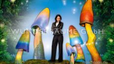 Pilze groß, Pilzset Regenbogenpilz (5 Pilze) - WUNDERRÄUME GmbH vermietet: Dekoration/Kulisse für Event, Messe, Veranstaltung, Incentive, Mitarbeiterfest, Firmenjubiläum