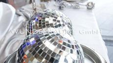 Spiegelkugel - WUNDERRÄUME GmbH vermietet: Dekoration/Kulisse für Event, Messe, Veranstaltung, Incentive, Mitarbeiterfest, Firmenjubiläum