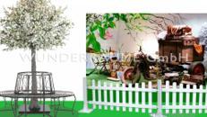 """Ostern-/Frühlingsdekoration """"Picknick - Ausflug"""" - WUNDERRÄUME GmbH vermietet: Dekoration/Kulisse für Event, Messe, Veranstaltung, Incentive, Mitarbeiterfest, Firmenjubiläum"""
