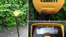 Metalldetektor GARRETT ACE 150 Graphic Target ID
