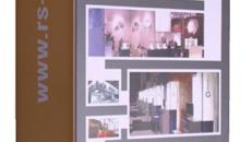 Präsentationssäule mit Beleuchtung und individuellem Grafiksegel