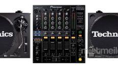 DJ Set 2x Technics 1210 MK2 - 1x Pioneer DJM 800