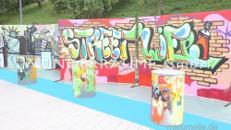 Graffiti-Wand - WUNDERRÄUME GmbH vermietet: Dekoration/Kulisse für Event, Messe, Veranstaltung, Incentive, Mitarbeiterfest, Firmenjubiläum