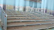 4m x 18m Tribüne - Tribünenbau - Bühne