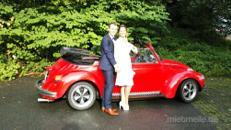 Hochzeitsauto, Oldtimer VW Käfer Cabrio mieten
