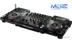 Professionelles Pioneer DJ Set Mischpult DJM 850 CD-Player CDJ 2000 NXS Nexus