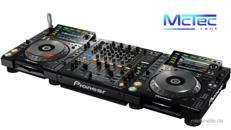 Professionelles Pioneer DJ Set Mischpult DJM 850 CD-Player CDJ 2000 NXS Nexus