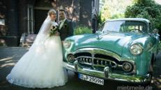 Oldtimer Hochzeitsauto Packard mieten