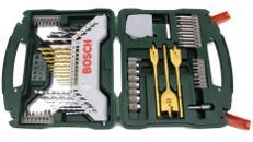 Titanium-Bohrer-Set Schrauber-Set Bosch X-Line