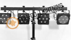 Eurolite KLS-2001/KLS-800 LED Scheinwerfer - DJ Beleuchtung - Lichtset - Lichtanlage - Lichttechnik - Licht - Spezialeffekte - Party Lichtstativ - LED PAR,  Fußschalter, Fernbedienung oder DMX