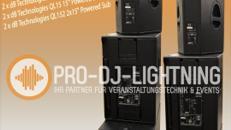 dB Technologies Forty Line Powered System, PA DJ Anlage, Bass, Beschallungsanlage, DJ Anlage, Musikanlage, Partyanlage, Tonanlage, Subwoofer, Lautsprecher, Soundsystem