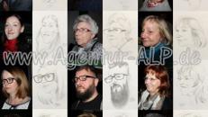 Ihren Karikaturisten und Schnellzeichner buchen Sie günstig in NRW & Hessen, Köln, Frankfurt, Düsseldorf, Essen, Münster, Dortmund ...