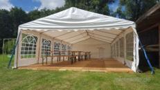 6 x 5m Partyzelt - Mieten - Festzelt - Zelt