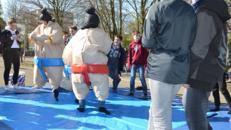 Sumo Anzüge, Gladiatoren Kampf Eventmodul