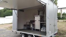 Spülanhänger Geschirrspülmobil Spülmobil Spülcontainer mobile Spülküche