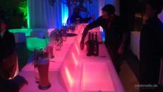 LED Bar / Leuchtmöbel / Leuchttheken / Cocktailbar / Lounge Bar / Beleuchtete Bar / Mobile Bar / Akku LED