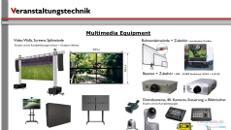 Videotechnik / Multimedia