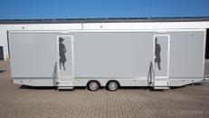 Toilettenwagen 7&2 silber