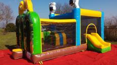 Hüpfburg Zooparty Marvi mieten für 1 Tag für 135 € für Veranstaltungen, Hochzeiten, Events, Kirmesfeier, Kindergeburtstag