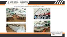 Festzelt / Event Halle / Oktoberfestzelt /Zeltstsystem / 200 - 2000 Personen