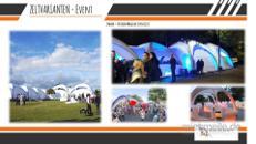 Partyzelt / Zelthalle / Eventzelt / Messezelt / Oktoberfestzelt /250 – 2000 Personen