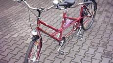 Schauff   -  Tandem Fahrrad - Tandemfahrrad für entspannte Ausflüge zu zweit