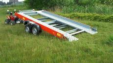 PKW Transporter Tieflader kippbar 2680 kg gebremst / 100 km/h - 4010 x 2030
