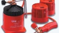 Loetlampe LM 3000 - Flammtemperatur bis 1750 Grad