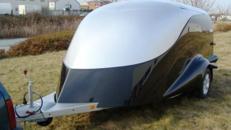 Edler 2er Biketrailer Excalibur Anhaenger S 2 / 1500 kg gebremst / 100 km/h - 3000 x 1800 x 1520 - Nutzlast ca.  950 kg