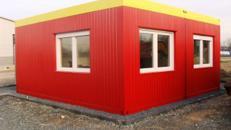 Bürocontainer - Lagerraum - Lagercontainer 36 qm - Elsdorf - 1250 qm Abstellfläche eingezäunt