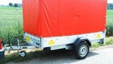 Anhänger in Langzeitmiete zu TOP Preisen von 2 m - 8 m / von 750 kg - 3500 kg