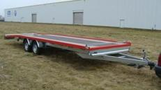 2er PKW Transporter Hochlader  3.500 kg gebremst - 8000 x 1960 - Nutzlast ca. 2500 kg