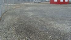 1200 m² eingezäuntes + befestigtes Gewerbegrundstück - teilbar ab 250 m² zu mieten - Bürocontainer 36 qm zubuchbar