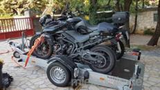 Juli bis Okt. noch freie Termine! Absenkbare Anhänger für 2 große Motorräder Dortmund
