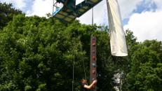 Kletterschlange - Kletterwand - mobiles Klettern