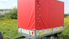 Zorro Hochlader geschlossener Plananhänger - 1300 kg gebremst / 100 km/h