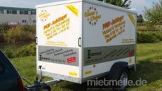Gost Kofferanhänger Urlaubsanhänger geschlossen  1300 kg gebremst / 100 km/h