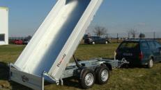 BOBB Dreiseitenkipper Hochlader 3.000 kg gebremst E - Pumpe / 100 km/h