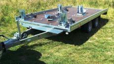 SKY  extra breit 4er bis 5er Motorradanhänger extra breit 2700 kg gebremst 100 km/h