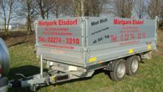 Walter´s Surprise Dreiseitenkipper mit E-Pumpe Hochlader 3.500 kg gebremst 100 km/h