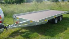 ROCCO Autotransporter 5060 x 2190 Hochlader 3.000 kg gebremst 100 km/h PKW Transporter Maschinentransporter
