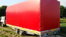 Roter Stier Car geschlossener PKW Transporter 2700 kg gebremst / 100km/h Autotransporter